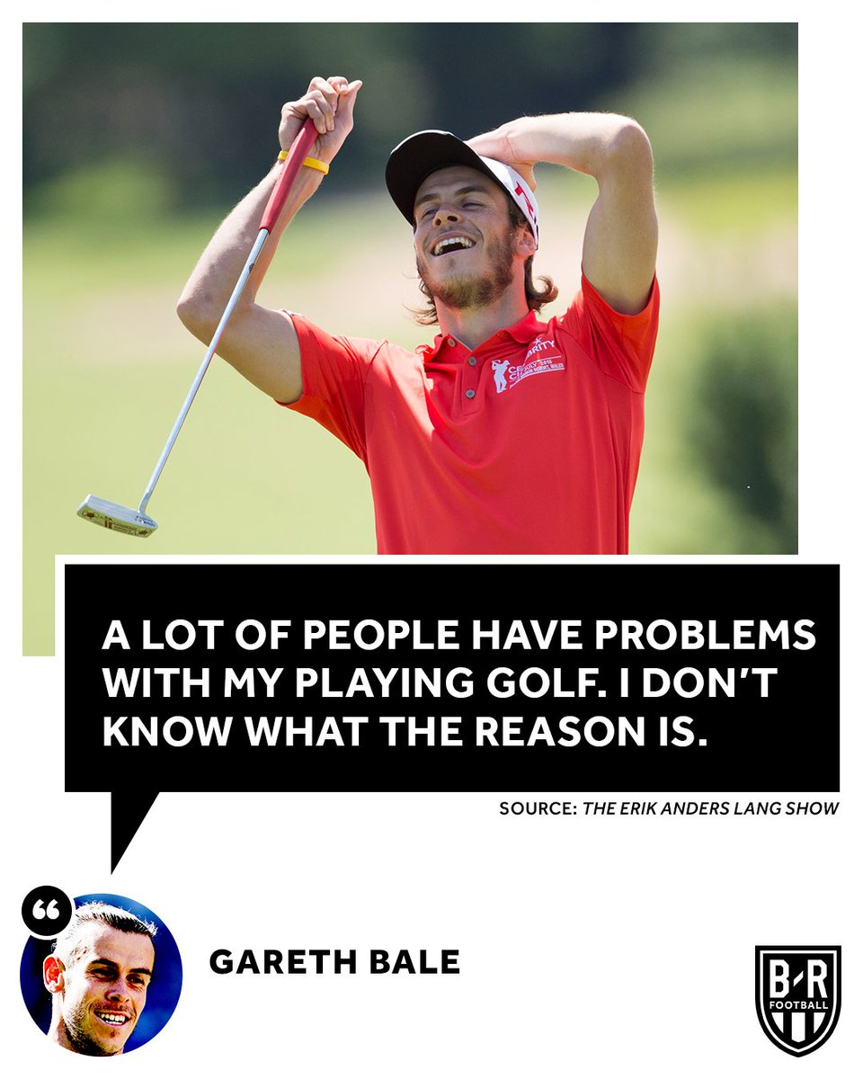 Gareth Bale doesnt understand the criticism he gets 🤷‍♂️🏌️‍♂️