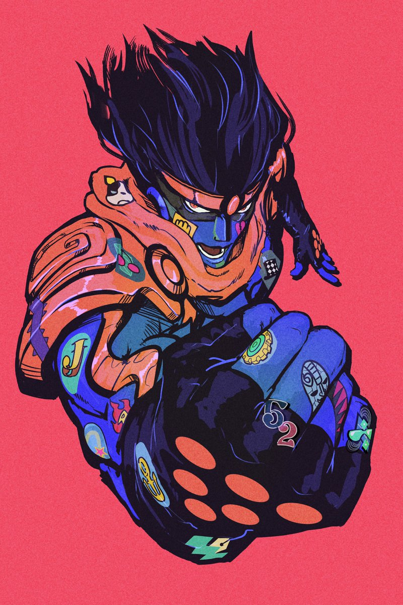 star platinum. #illustration pic.twitter.com/7yg5WWZ9dB