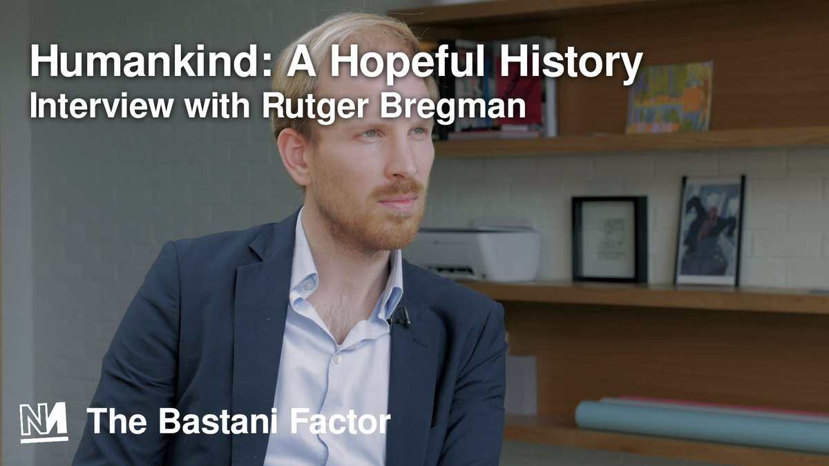 🕗 Tonight @AaronBastani interviews @rcbregman on his new book Humankind, human nature and 'the survival of the shameless.'  📺 Live at 8pm. https://t.co/caE07wAIFL https://t.co/OK15EyDUF0