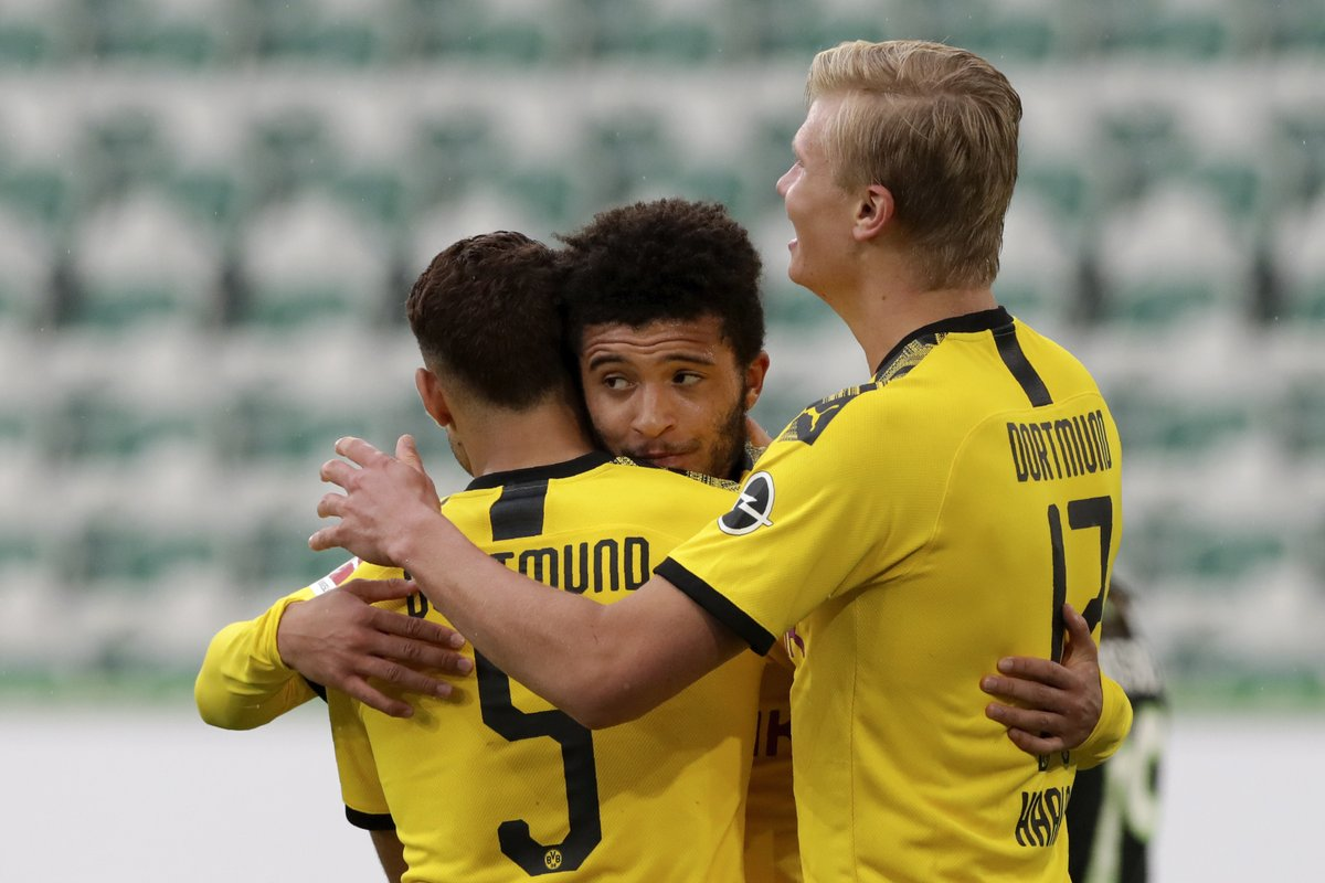 EXPLAINED: Why Jadon Sancho has not started a game since the Bundesliga returned - bit.ly/BVBversusFCB