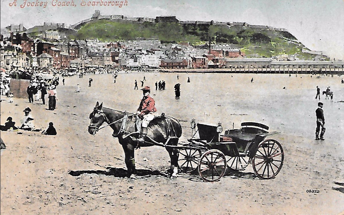 Two days before she died, painfully thin & suffering from TB, Anne #Brontë went down from her lodgings in #Scarborough to South Bay & took a ride in a donkey carriage along the sands. Her last attempt at fun was #OTD 1849.pic.twitter.com/4QIBbAyog8