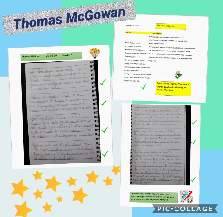 Busy day at the office! Well done to Thomas in year 11! 🌟 @StJosephsDerry