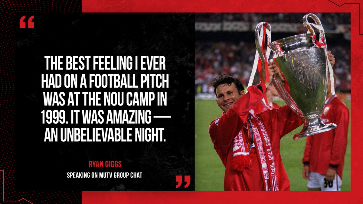 You said it, Giggsy 🤩  #MUFC https://t.co/tMRQkWAKty https://t.co/MS1ILR1CrK