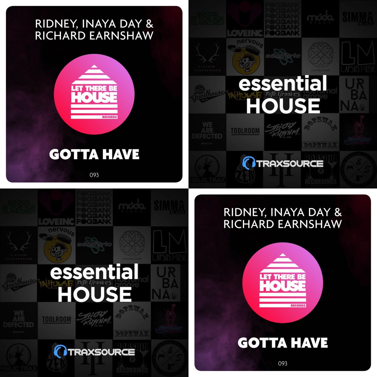Essential support from @traxsource at no. 3 in the Essential House chart @ridney @INAYADAY @LTBH_pic.twitter.com/2RyEYQ1lMv