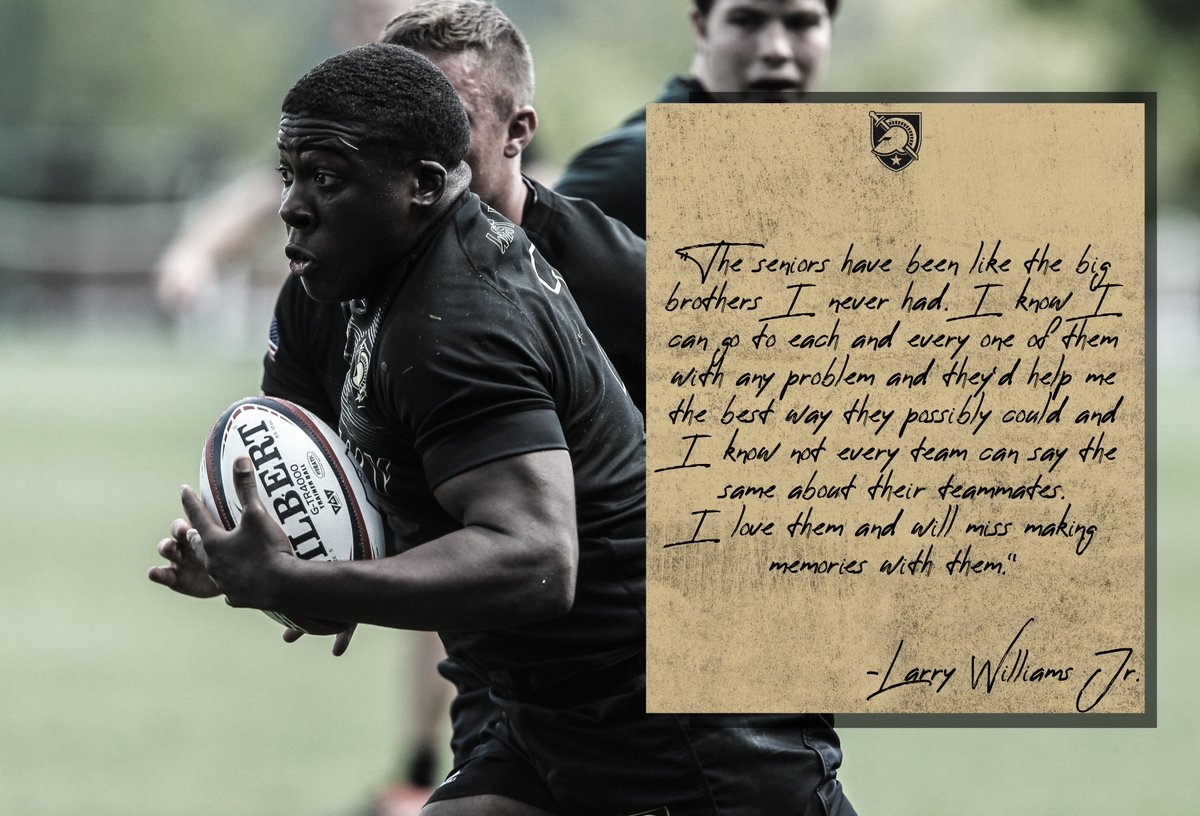 With graduation approaching, Larry Williams Jr. shares some words about the class of 2020 and the true sense of brotherhood that they embody. #GoArmy