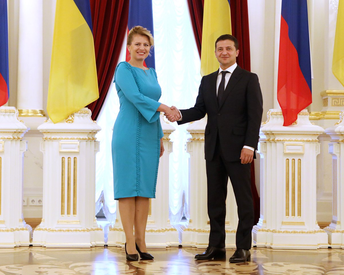 Pleasure talking to @ZelenskyyUa: #Slovakia and #Ukraine remain solid partners and friends. Glad we could help Ukraine in fighting the pandemic. I hope to host Mr President in Slovakia soon and to further develop our close relations.