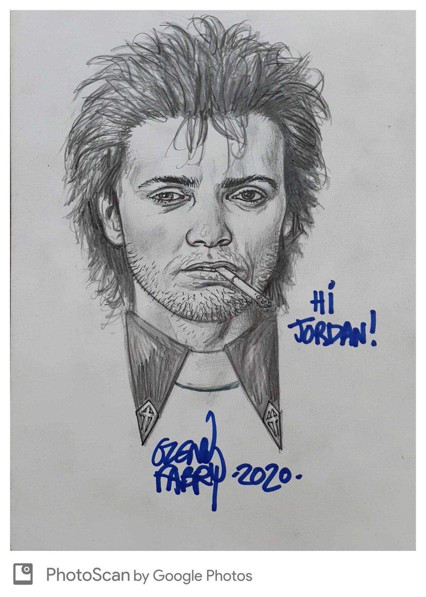 Jesse Custer commission from the one and only Glenn Fabry! Also got a John Constantine on the way.  #Preacher #vertigo #glennfabry #comics #ComicArt #sketch #commissions #jessecuster #artwork #comicbookartpic.twitter.com/MfLCALzMOc