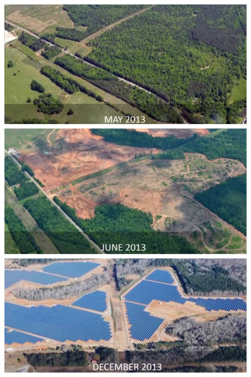 Images of land-intensive Eco-monstrosities don't lie, they tell for themselves. #GreenNewDeal #EUGreenDeal #climate #ClimateChange #ClimateCrisis #ClimateEmergency #PlanetoftheHumans #ClimateStrike #Energiewende<br>http://pic.twitter.com/gmp6CTVYpw