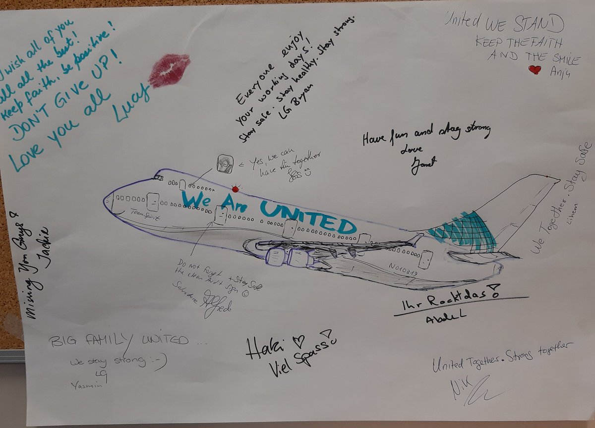 Welcoming the next group  #WeAreUnited #unitedtogether #unitedairlines @weareunited #whyiloveao @united #wearefra #frankfurtairport #frankfurt @Airport_FRA https://t.co/4rYOrPP4lP