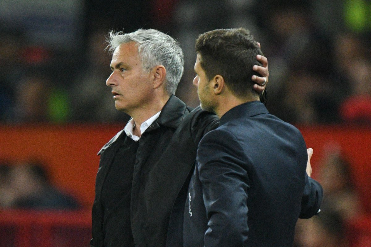 Mauricio Pochettino on Jose Mourinho: 🗣️ I always thought Id replace him. He was at Real Madrid. I said: Oh, maybe one day I can take your place at Real Madrid, but look at how life works out. He has taken my place at Tottenham. Unbelievable, eh?