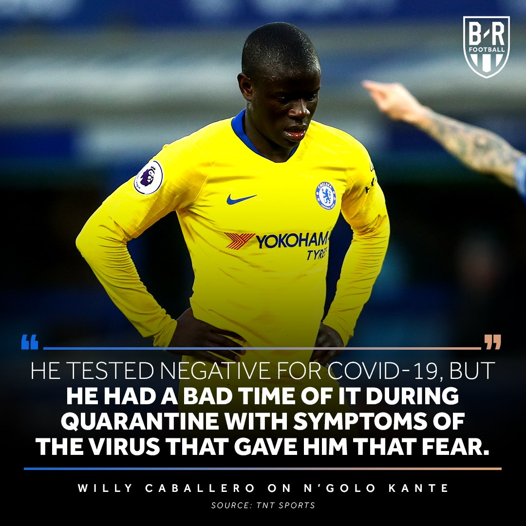 Chelsea players are supporting NGolo Kantes decision to not train over COVID-19 concerns 💙