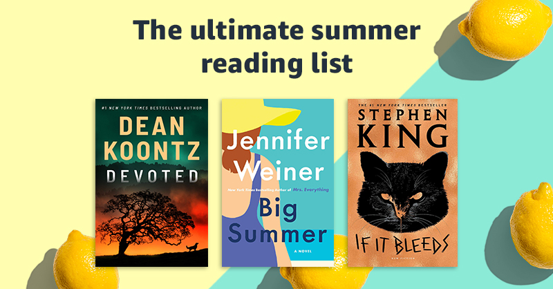 What's on your summer reading list? Discover editors' picks, summer blockbusters, and more, all summer long. Browse deals and explore books in every genre and for readers of all ages...