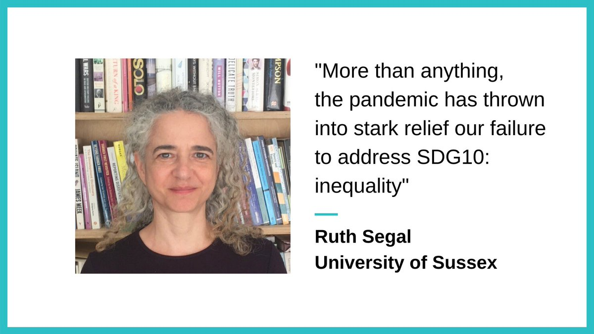 Far from being a luxury, the #SustainableDevelopmentGoals provide a framework to respond to the pandemic and the inequality that has been exposed by it. Ruth Segal @SussexUni suggests that inequality reduction is key, for #UPENblogs. 👉 tinyurl.com/ydesgexb #SDG10