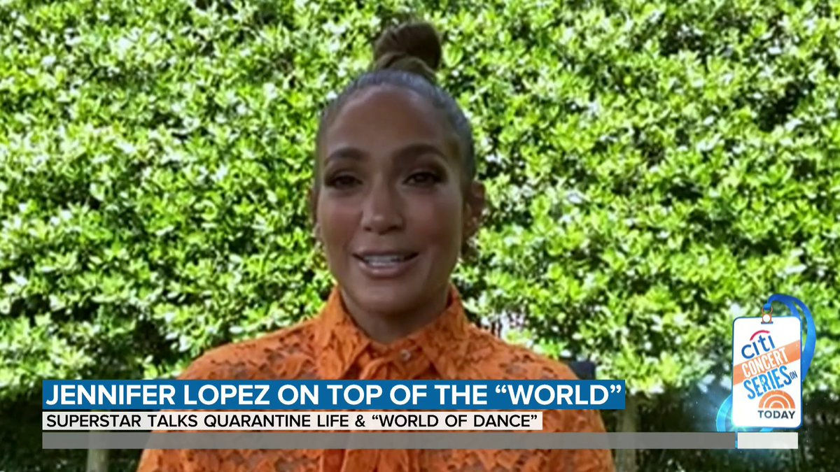 """We get to have dinner together every night and I got to tell you, I love that,"" says @JLo on how she and her family are spending quarantine. https://t.co/jNliTfi6RE"