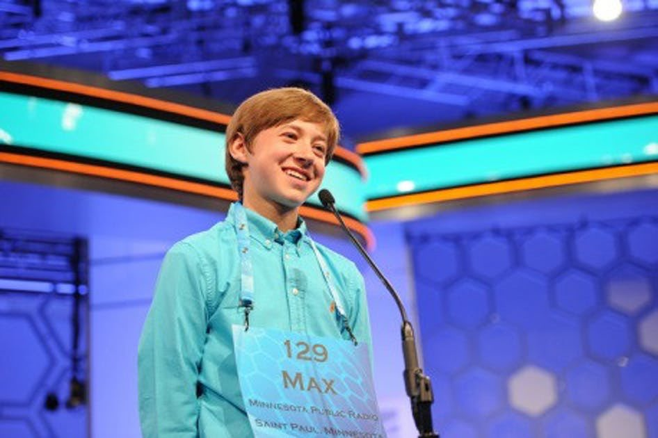 """On This Day in Sports History (May 26, 2016):  Maxwell Meyer of Minnetonka, MN spells the word """"dulia"""" incorrectly to finish in 13th place at the Scripps National Spelling Bee.   (📸: @citypages) https://t.co/rZMTzmKp3Y"""