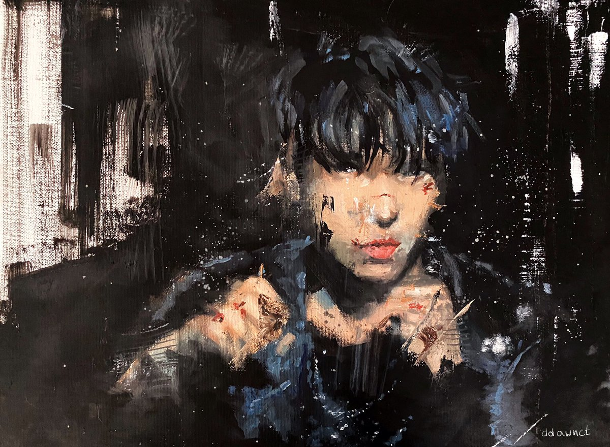 DOYOUNG, oil on canvas #NCTFanart #DOYOUNG #NCT127_PUNCH<br>http://pic.twitter.com/AYKx29Px8x