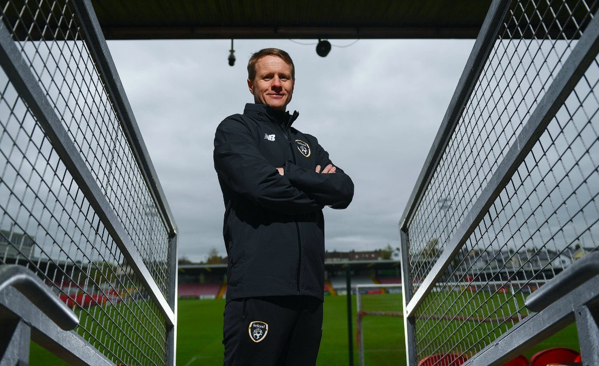 Coaching Webinar  #IRLU17 Head Coach Colin O'Brien will conduct webinar on Sat. May 30 at 11:00. Coaches who want the link sent directly please email niall.oregan@fai.ie   Topic   Preparation to opening game of #U17EURO Send your questions  to coached@fai.ie  #lifelonglearning https://t.co/G0T2WzZRak