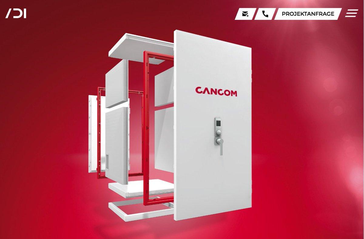 Cancom BIG-IT Shelter –  The Next Generation of IT-Security Mehr 3D gibts auf der neuen ADI Website:  Viel Spaß beim Entdecken unserer 3D Projekte.   #adi3d #3D #3dfilm #newwebsite #3dproject #projects #design #3ddesign #filmproduction #product