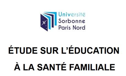 Pour valoriser le rôle des familles dans le système de santé, le Laboratoire Éducations et Pratiques de Santé de @univ_spn, soutenu @unaf_fr et @msa_actu développe un programme d'éducation à la santé familiale. Participez à cette étude auprès des familles:
