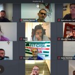Image for the Tweet beginning: In videoconferenza prende il via