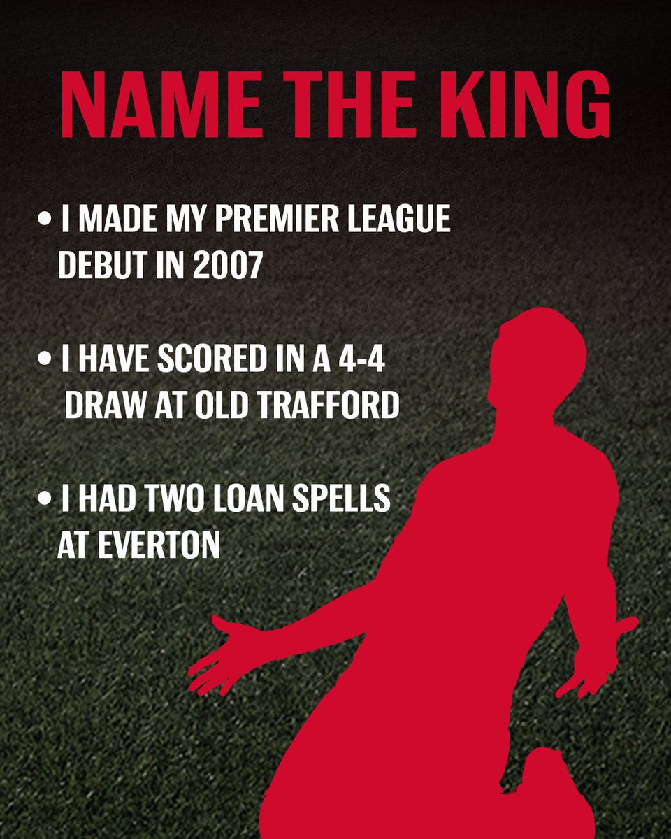 Can you name this former @premierleague King? #BeAKing