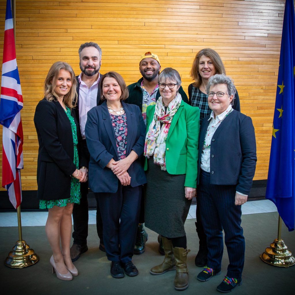 A year ago today, my dream of becoming @TheGreenParty MEP for the South East region of England was realised Thanks to everyone who voted Green & put their trust in me I hope, one day, I'll be back with my fellow Green MEPs But for now, let's continue to fight the good fight ✊🏽