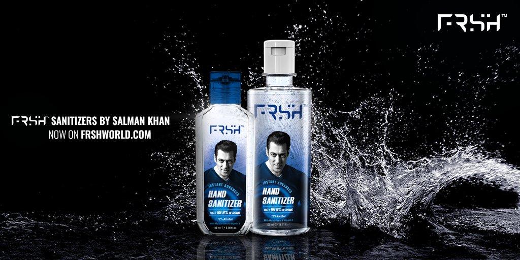 Germs ko do muh tod jawab FRSH Hand Sanitizers ke saath! Get yours now on