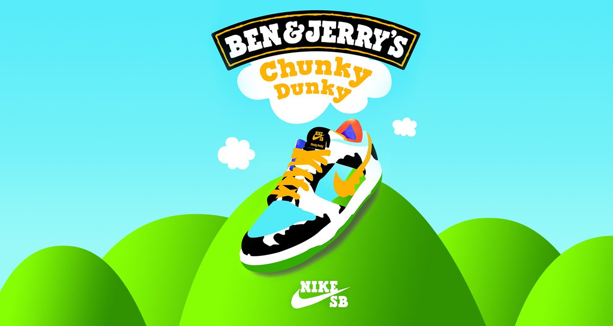 Ad: ALMOST LIVE ‼️ Ben & Jerry's x Nike SB Dunk Low 'Chunky Dunky'  => https://t.co/P5Tv1GHkX4 => https://t.co/P5Tv1GHkX4 => https://t.co/P5Tv1GHkX4  GOOD LUCK🙏🙏 https://t.co/cT5mdkgGHW