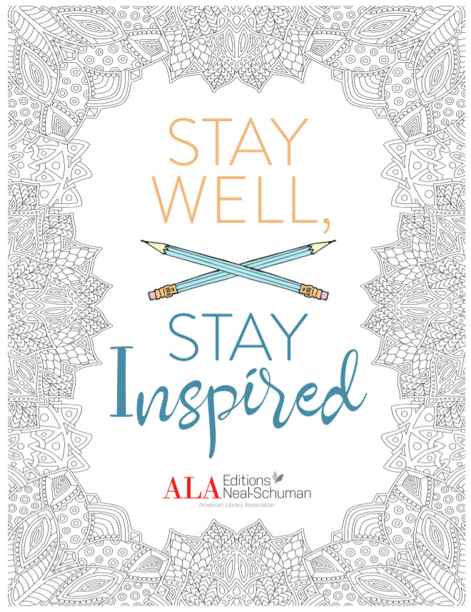 Looking for a creative way to start your week? Try these book and library-themed coloring pages and writing prompts from the American Library Association! https://www.alastore.ala.org/sites/default/files/StayWellStayInspired.pdf …  #coloringpages #libraries #americanlibraryassociation #wellnesspic.twitter.com/qBbInm3CxQ