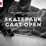 Image for the Tweet beginning: Speelterreinen, skateparken en wijksportterreinen vanaf