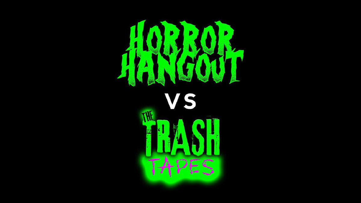 TOMORROW! Who will survive and what will be left of them?!!! #TheTrashTapes boys @JJChipol & @EdwardWLHarvey face off against @ben_errington & @LukeofKondor on the #HorrorHangout podcast with quiz master @superandyt83  ————— #horror #horrorpodcast #horrorthread #horrorcommunitypic.twitter.com/shkBd6JrNU