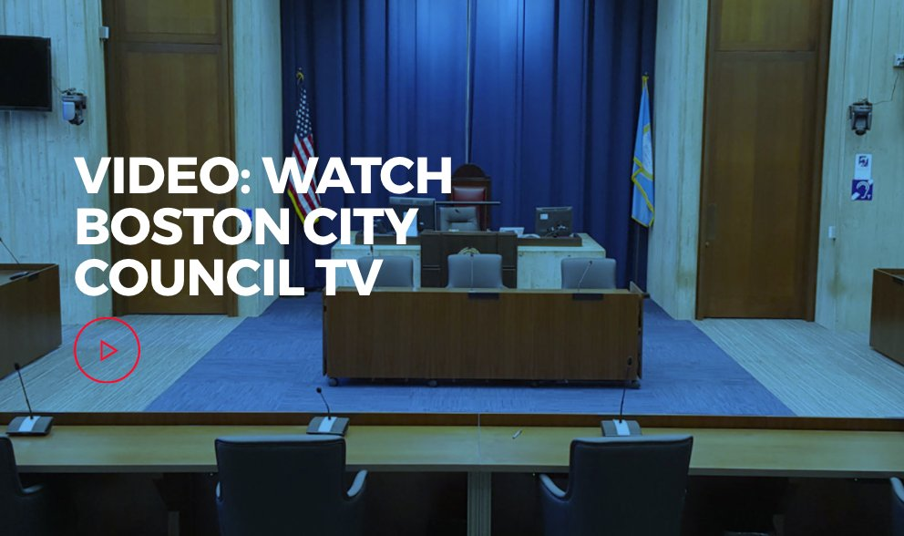 You can check out weekly @BOSCityCouncil committee hearings and meetings on Boston City Council TV on Comcast Channel 8,  RCN Channel 82, and Verizon Channel 1964. We also have a livestream: http://boston.gov/city-council-tvpic.twitter.com/lGK2Ae9ptD