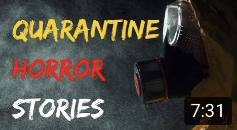 Scary Stories During Quarantine | Reddit Horror Stories https://youtu.be/J6CSYoSVWxo  #ScaryStories #StayHome #Covid19 #Creepypic.twitter.com/nEEOGGV8Lh