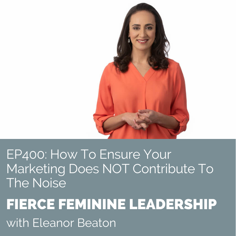 """Just listed to an episode of the Fierce Feminine Leadership #podcast, and @eleanorbeaton's main message was """"the cream always rises to the top."""" It was a great reminder that when your message is clear, there will always people willing to listen. Full ep https:// buff.ly/3blFQJu    <br>http://pic.twitter.com/n9fEX74N0O"""