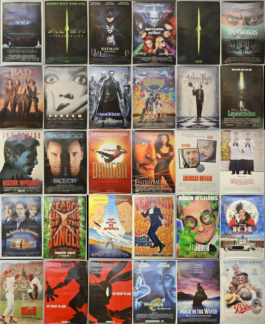 eBay Auction - One Sheet Movie Posters - Matrix, Batman, Scream, Alien Res.. #movieposters #filmposters #cinemaposters #mancave  - https://mailchi.mp/f18aa84729a8/pastposters-ebay-auction-28-may …pic.twitter.com/1veXBSMfxF