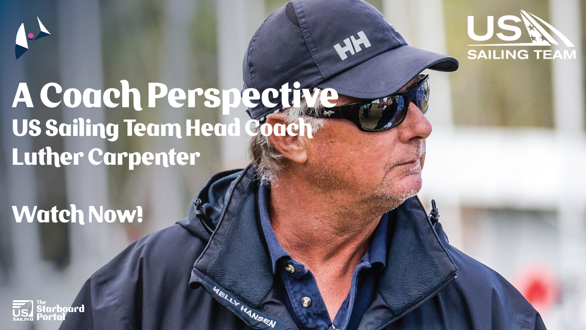 What better way to learn than from the best...Coaching tips coming at ya from the one and only Luther Carpenter, US Sailing's Olympic Head Coach! Going LIVE @ 4PM eastern 📺 Click to tune in! 👇🏼