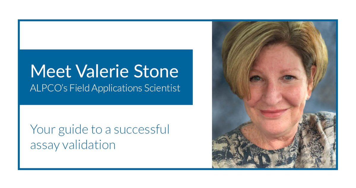 A successful #AssayValidation is a major milestone for clinical labs.  If your lab is switching to a more accurate fecal #Calprotectin test or looking to bring one in-house, ALPCO's expert Field Applications Scientist Valerie Stone can help.  Learn how: https://t.co/r2Fa1F1PXH https://t.co/YPbaVu3Zaa