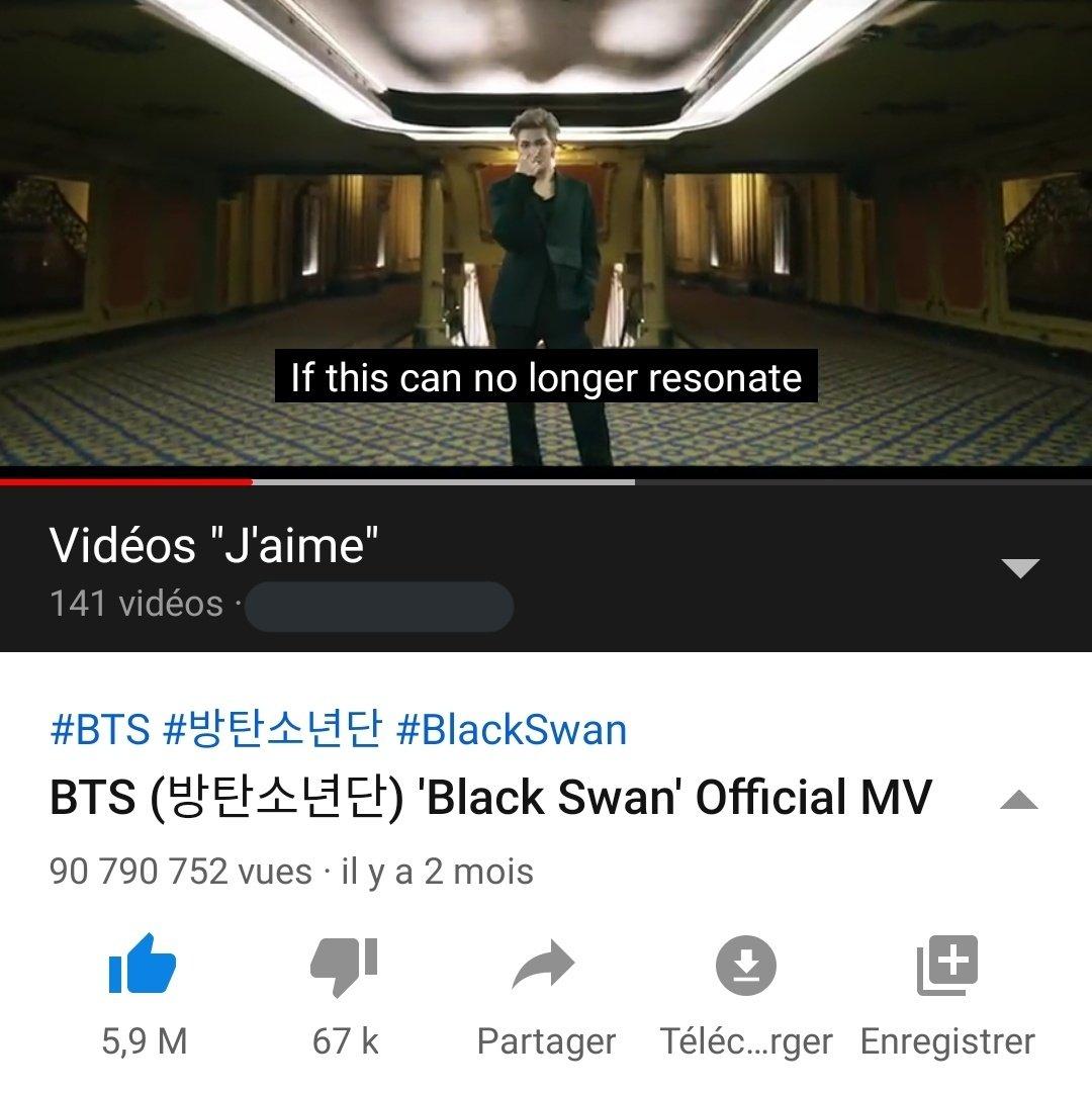 black swan mv has almost 100M <3 <br>http://pic.twitter.com/5I6cxOzy4p