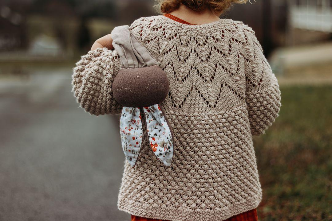 A closer look to lace knit details of the Bubble Cardi #kidsfashion #babyfashion #knitspic.twitter.com/2cqT3jJdY7