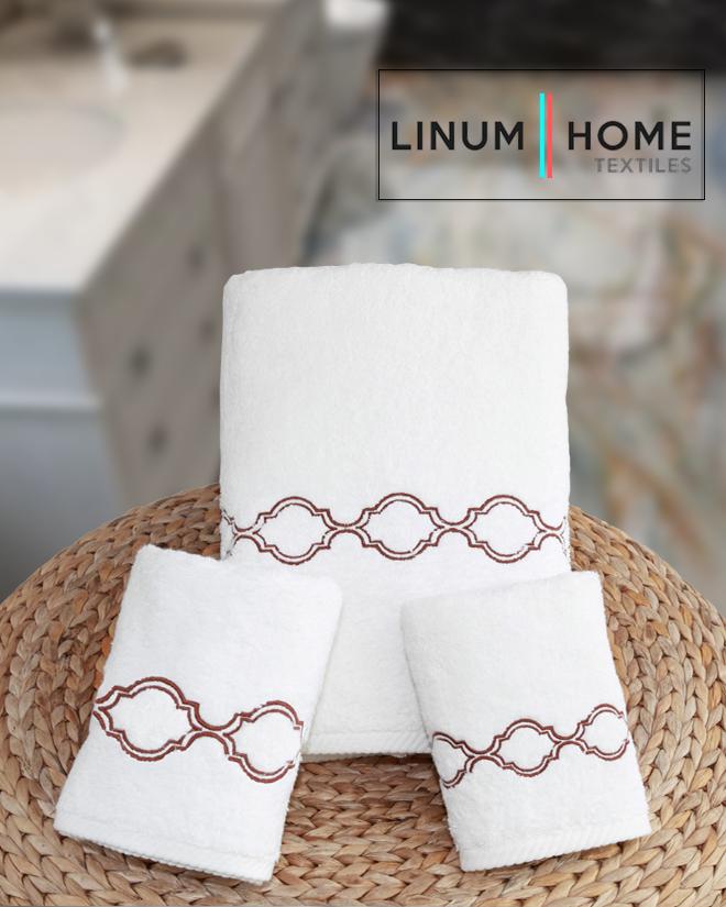 "Linum Home Textiles 100% Genuine Turkish Cotton ""Trellis"" Embroidered Soft Twist Collection! 3PCS Towel Set - Terra Cotta! In stock NOW!  Visit our Websitehttps://www.linumtowels.com/towels/trellis-towels/trellis-embroidered-soft-twist-collection-3pc-towel-set-dark-red.html#.Xs0gmWgzaUk…  #linumhometextiles #linumtowels #turkishcotton #turkishtowel #handtowel #washcloth #bathtowelpic.twitter.com/YkL4fumrWl"