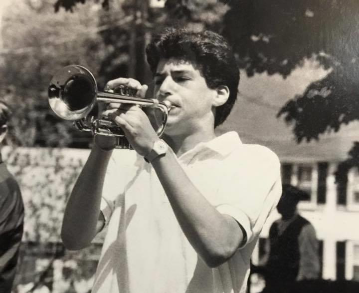 .@JohnBerman gave us a look back into his teenage years when he played the trumpet