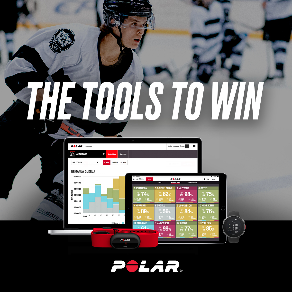 Despite these uncertain times, your competition is taking measures to get stronger, skate faster, & win more games. Will you be ready to win when the season starts?   Polar has the tools coaches & athletes need to stay in shape and ensure the team is ready to get back on the ice. https://t.co/Vyd2BMZYep