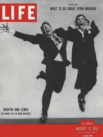 Found this online. The #Legendary #MartinAndLewis  Notice the upper right 'inside cover'. #DeanMartin and #JerryLewis will remain icons forever. And we still don't know what we're doing to keep us safe and healthy.  Some things never change.pic.twitter.com/YQOoyWoVUE