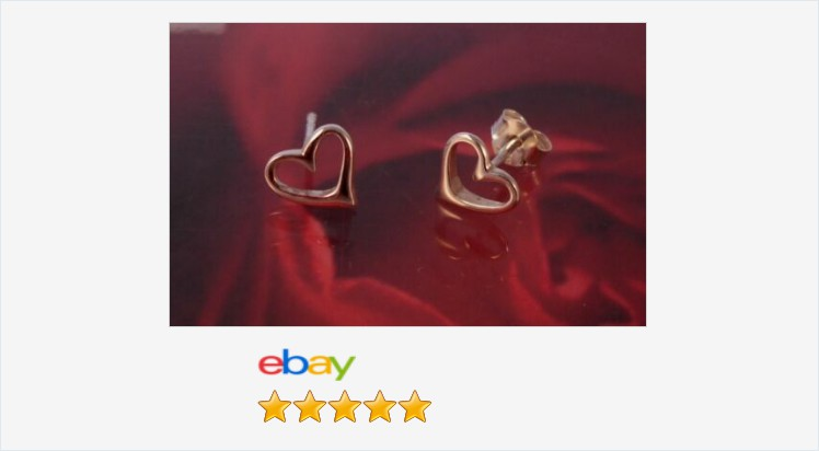 Brand New 925 Sterling Silver Open Heart Stud Earrings - Boxed | eBay #sterlingsilver #heart #stud #earrings #gifts #jewellery #giftideas #love #giftsforher #cute #pretty #jewelry #accessories #fashion #beauty #jewelrylover #giftshop #jewelryaddict