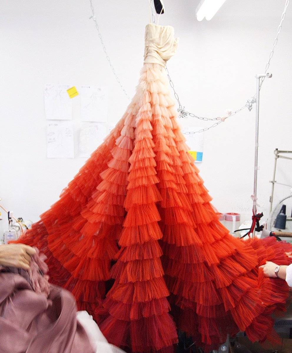 Remember when the studio was filled with beautiful ombré tulle gowns?! #tuesdaymotivation <br>http://pic.twitter.com/P6NCZaSJ9I