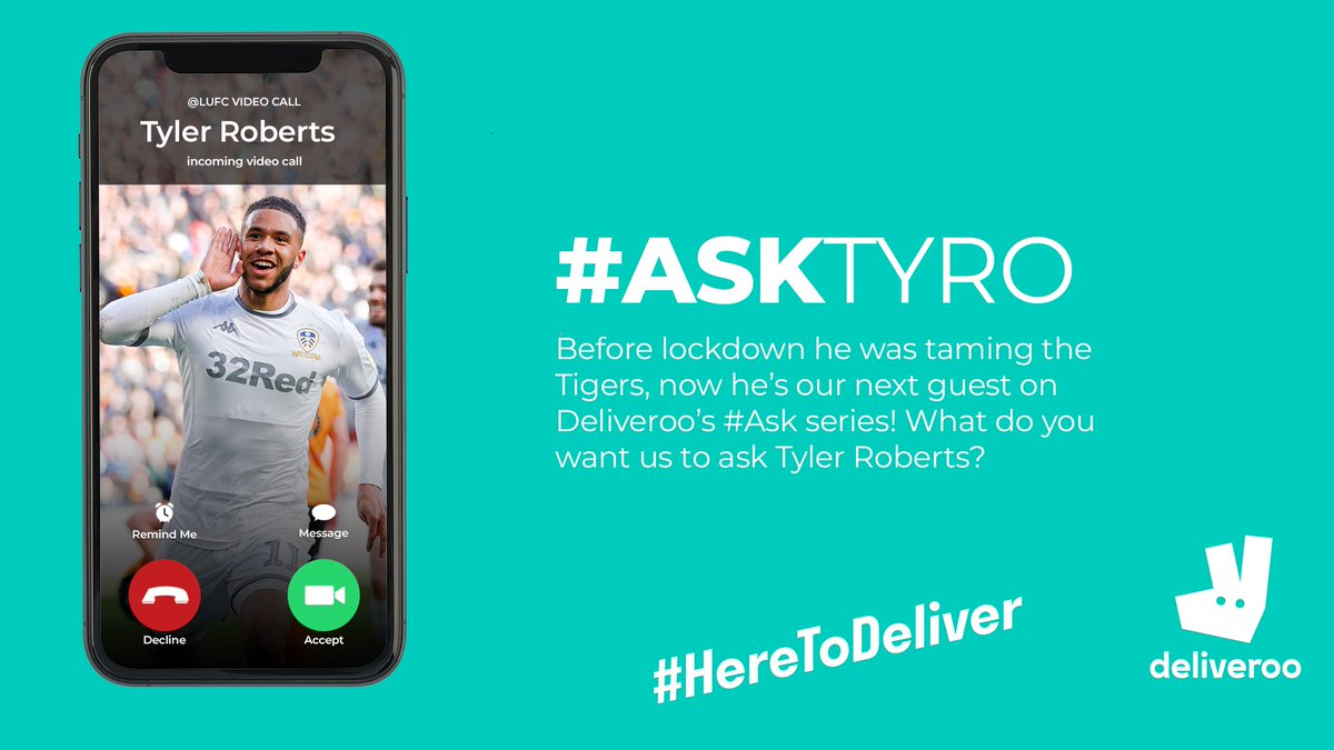 💬 Before lockdown he was taming the Tigers, now hes our next guest on @Deliveroos Ask series! What do you want us to #AskTyRo?