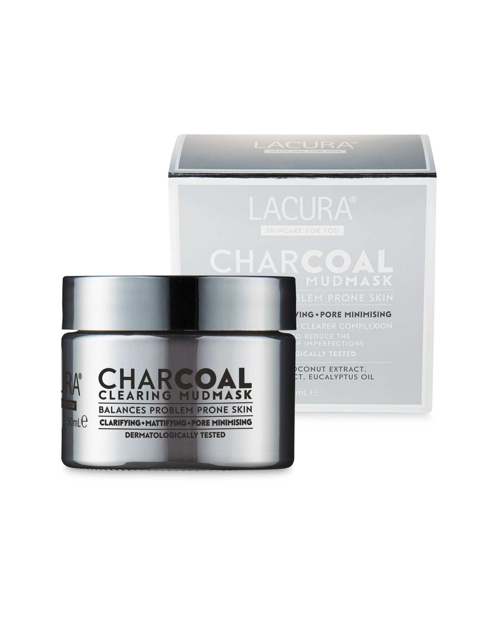 Lacura Charcoal Mud Mask (£5.99) vs GLAMGLOW Supermud Mask (£42). You save £36.01! pic.twitter.com/8CaKTWSY6c