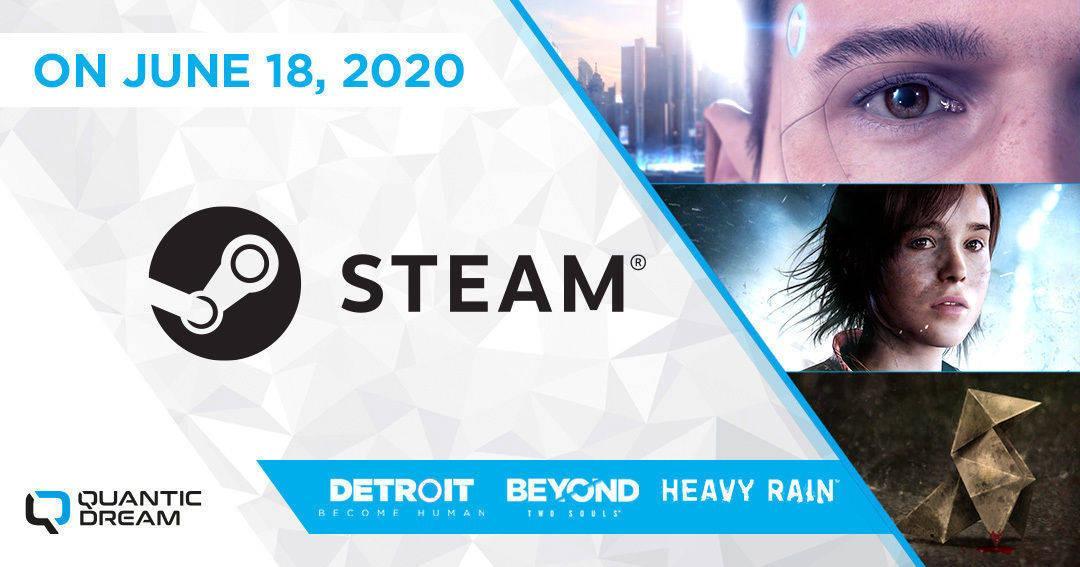Beyond: Two Souls, Heavy Rain, et Detroit: Become Human arrivent finalement sur Steam le 18 juin.   https://www.instant-gaming.com/fr/6999-acheter-cle-steam-heavy-rain/?utm_medium=tweet&utm_source=twitter&utm_campaign=Heavy%20Rain…  https://www.instant-gaming.com/fr/7000-acheter-cle-steam-beyond-two-souls/?utm_medium=tweet&utm_source=twitter&utm_campaign=Beyond:%20Two%20Souls…  https://www.instant-gaming.com/fr/7001-acheter-cle-steam-detroit-become-human/?utm_medium=tweet&utm_source=twitter&utm_campaign=Detroit:%20Become%20Human…pic.twitter.com/RQgBSdUqmV