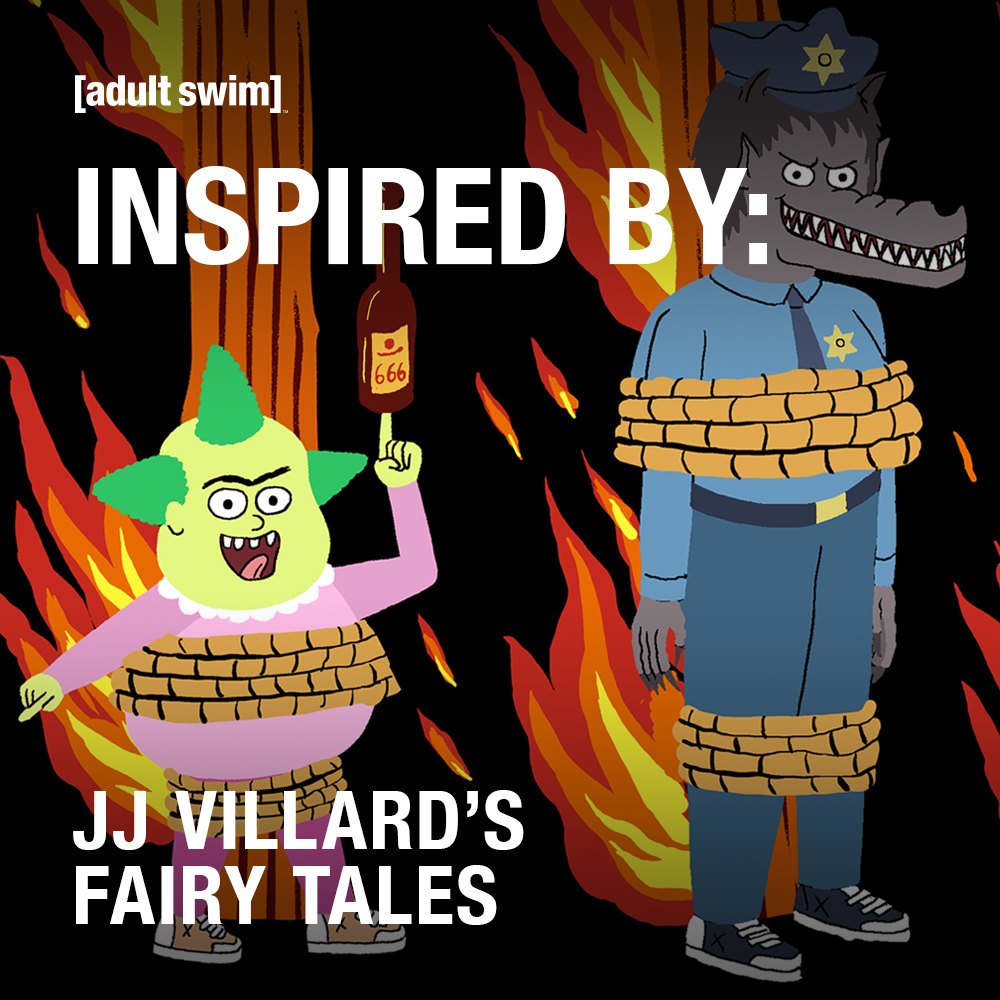 Tap into your malignant side with a playlist that inspired the creation of JJ Villard's Fairy Tales