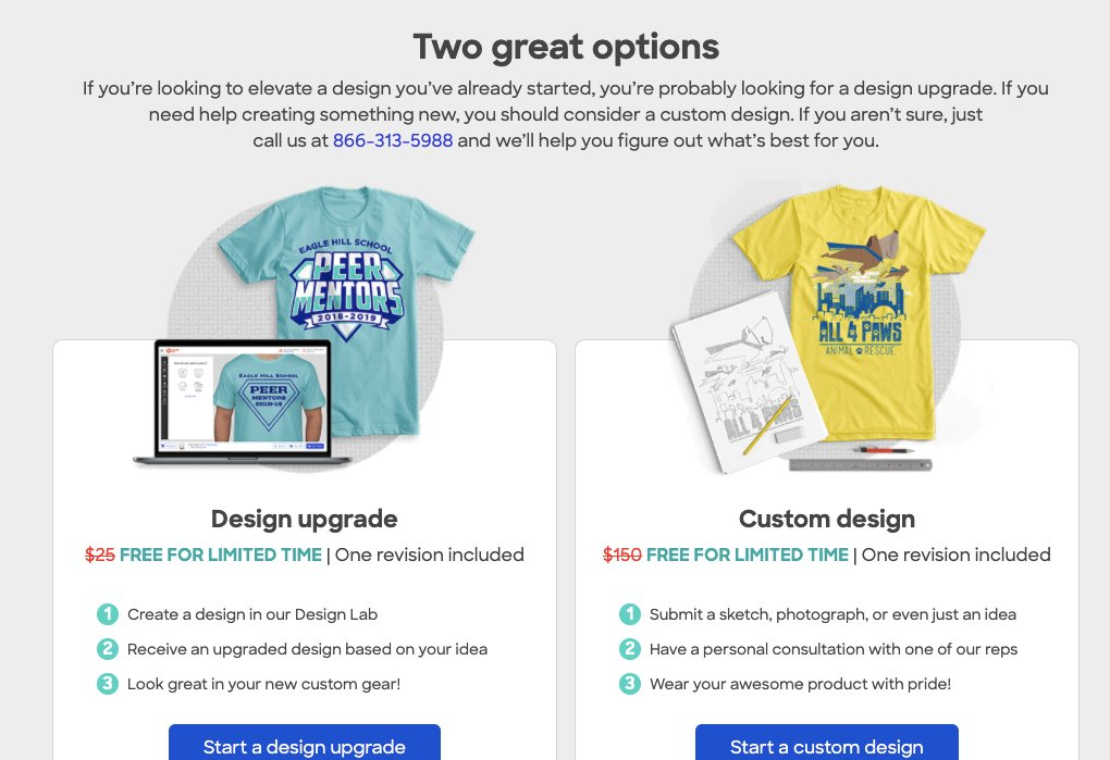 Free custom design work offer right now from @customink ! Upgrade your existing designs or create new custom designs at no cost to you. For a limited time, theyre offering premium design services for FREE! Act fast... this offer won't last forever. customink.com/ink/customcrea…